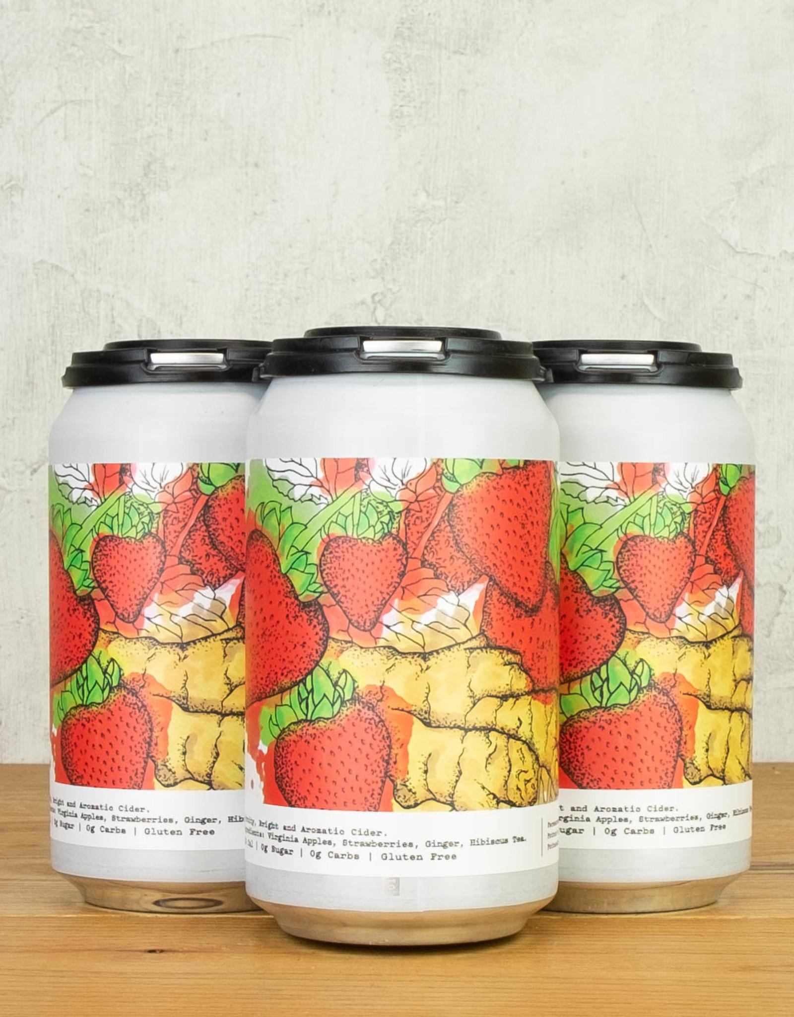 Potter's Strawberry Ginger Cider 4pk