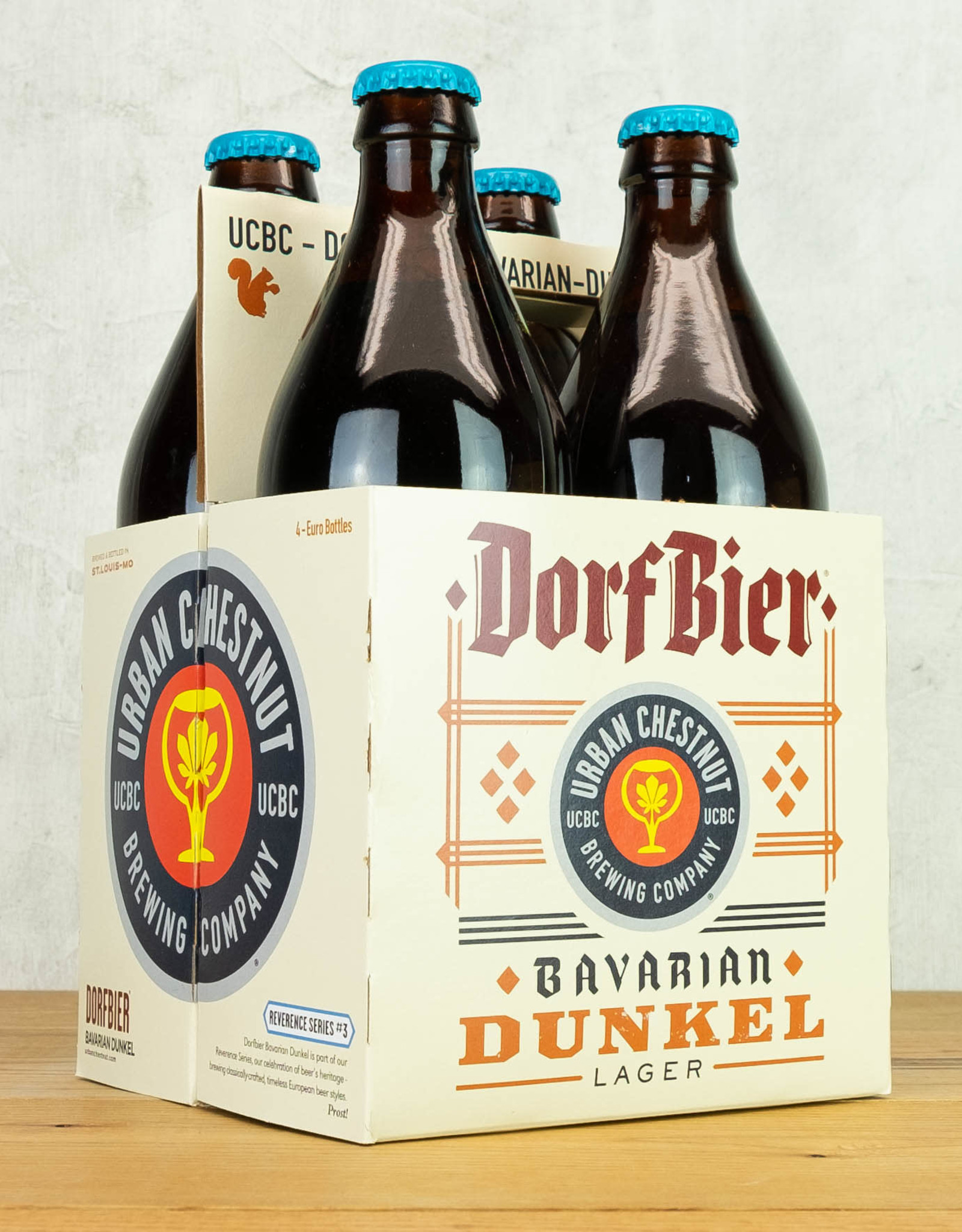 Urban Chestnut Dorfbier Bavarian Dunkel 4pk