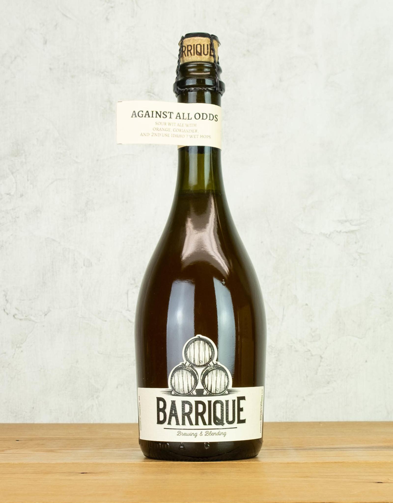 Barrique Brewing Against All Odds Sour Ale
