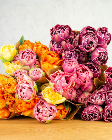 Ostara  Garden Flower Bouquet