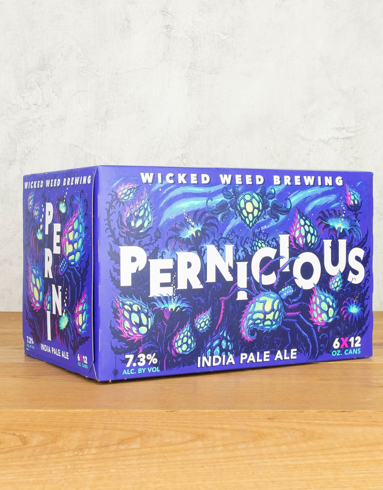 Wicked Weed Pernicious IPA 6-pack Cans