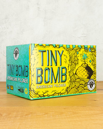 Wiseacre Brewing Tiny Bomb American Pilsner 6pk