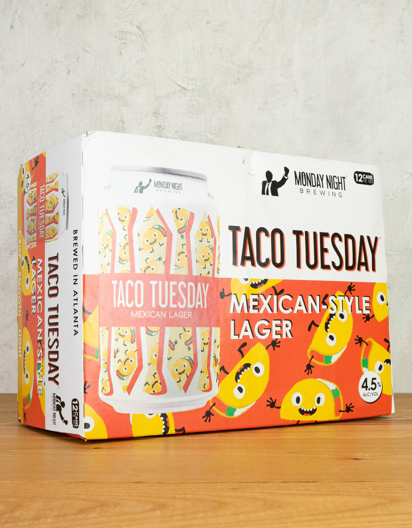 Monday Night Taco Tuesday Mexican Lager 12pk