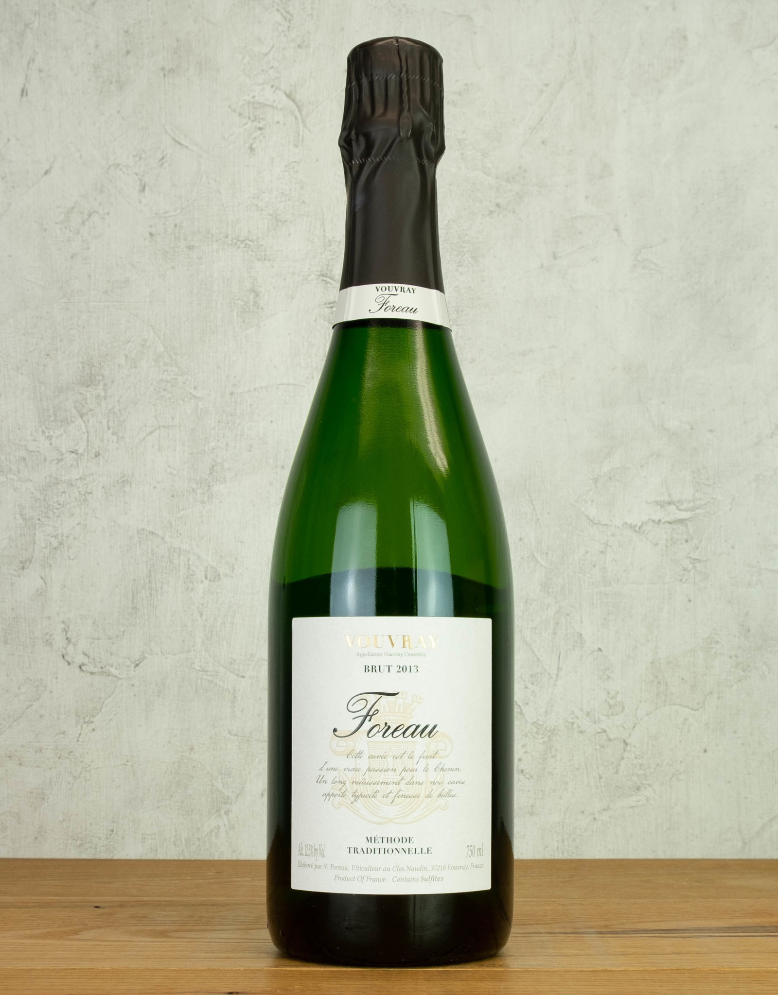 Foreau Vouvray Brut 2013