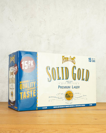 Founders Solid Gold Lager 15pk