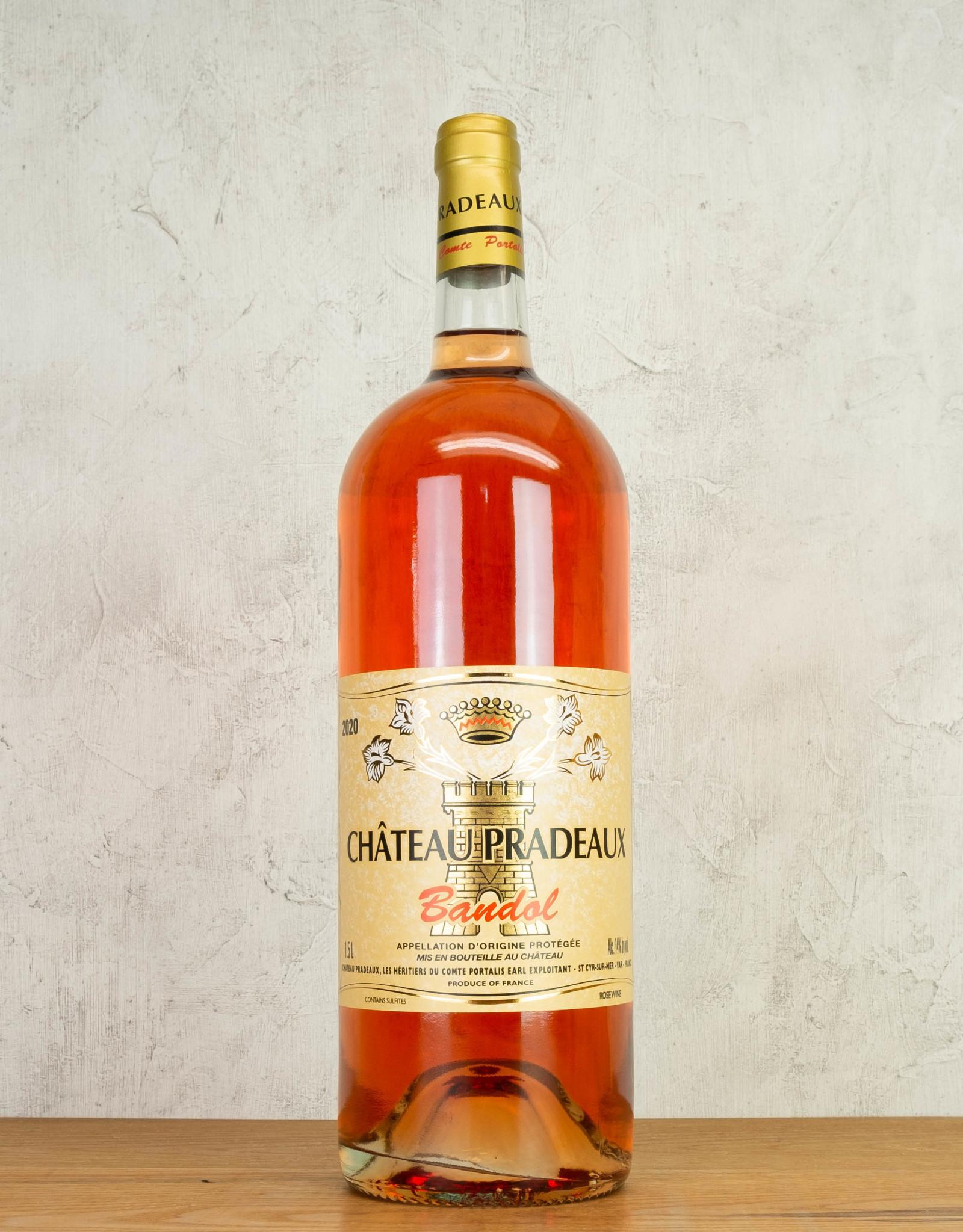 Chateau Pradeaux Bandol Rose 1.5L
