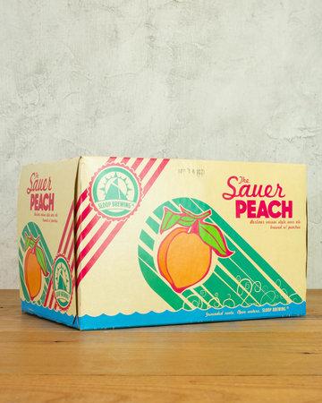 Sloop Brewing Sauer Peach Berliner Weisse 6pk