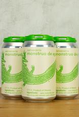 Cerveceria Monstruo de Agua Blanca de Maguey 4pk