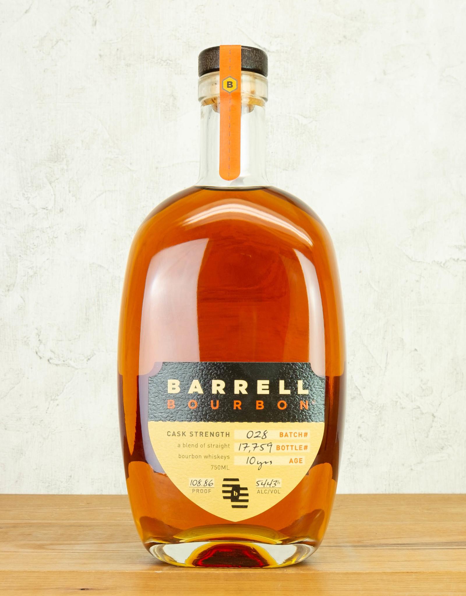 Barrell Bourbon Cask Strength Batch 30