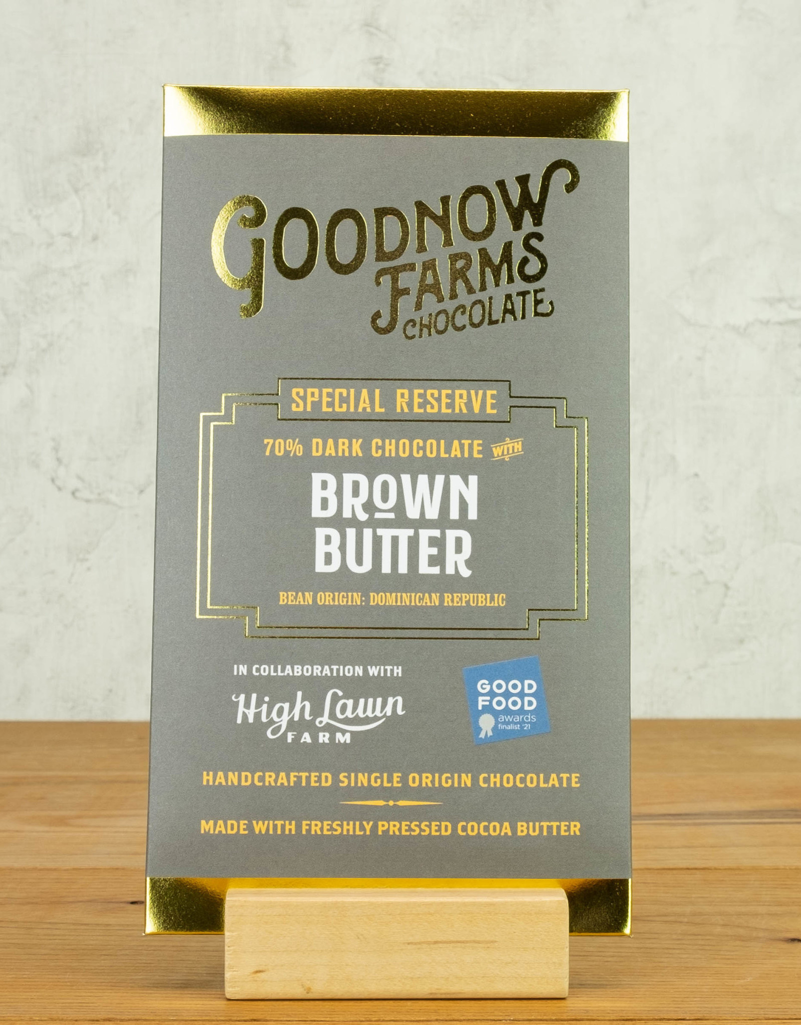 Goodnow Brown Butter 70%
