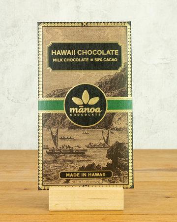 Manoa Hawaii Milk Chocolate 50%