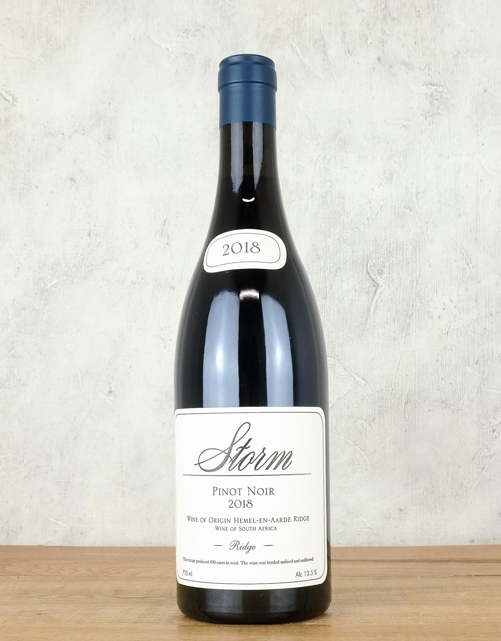 Storm Pinot Noir Hemel-en-Aarde Ridge
