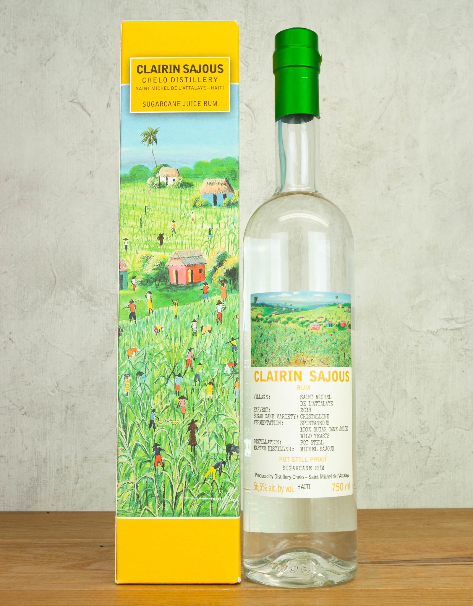 Clairin Sajous Chelo Distillery