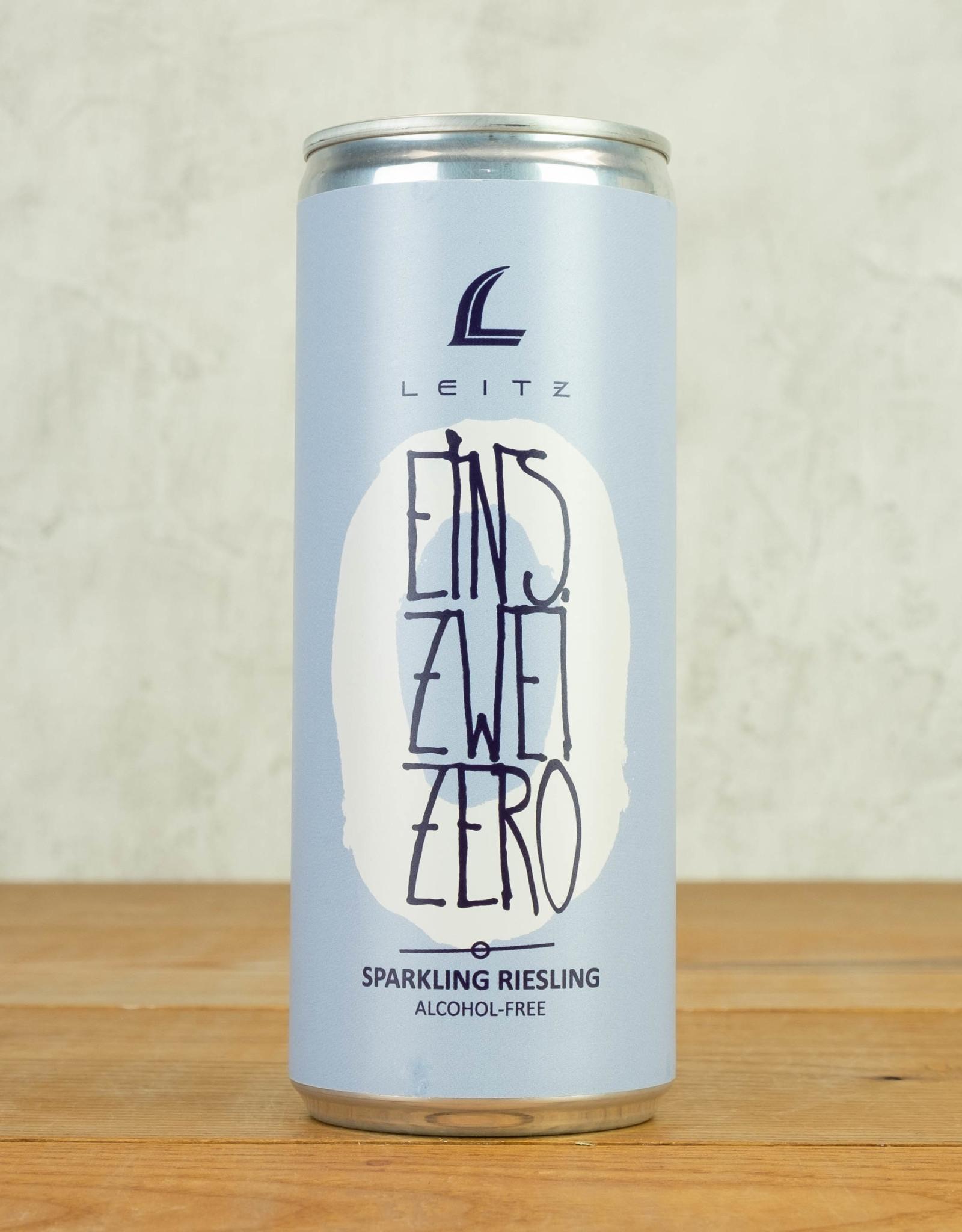 Leitz Eins Zwei Zero Non-Alc Sparkling Riesling 250ml Can