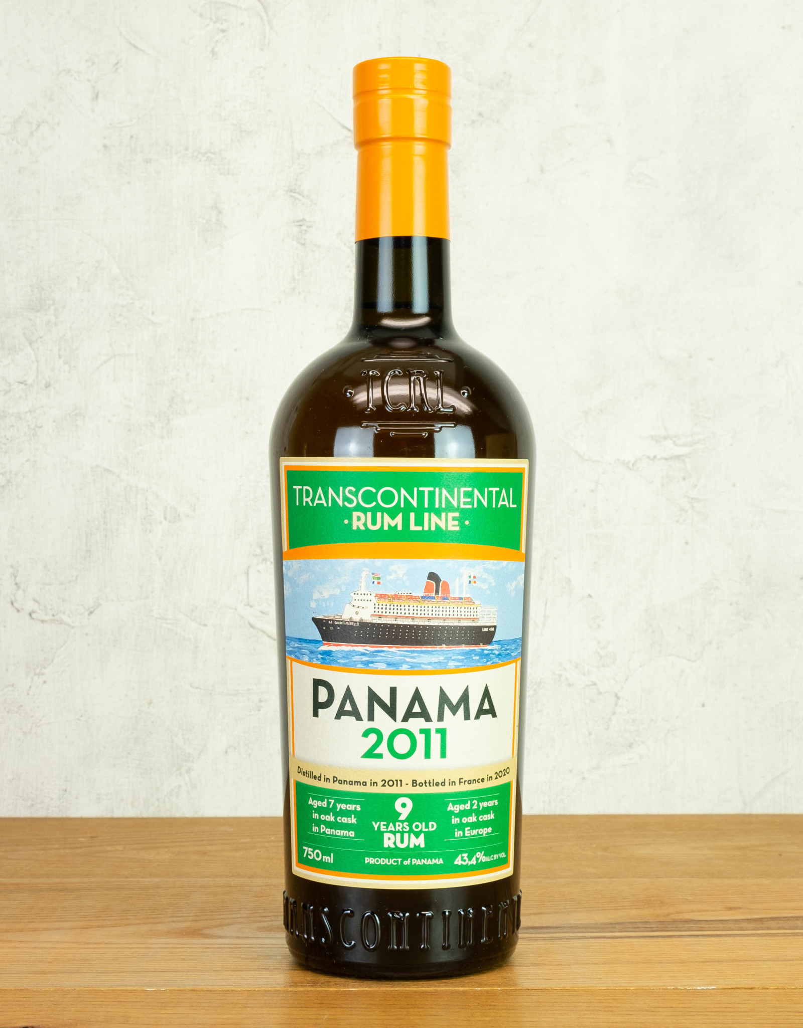 Transcontinental Rum Line Panama 9-Year