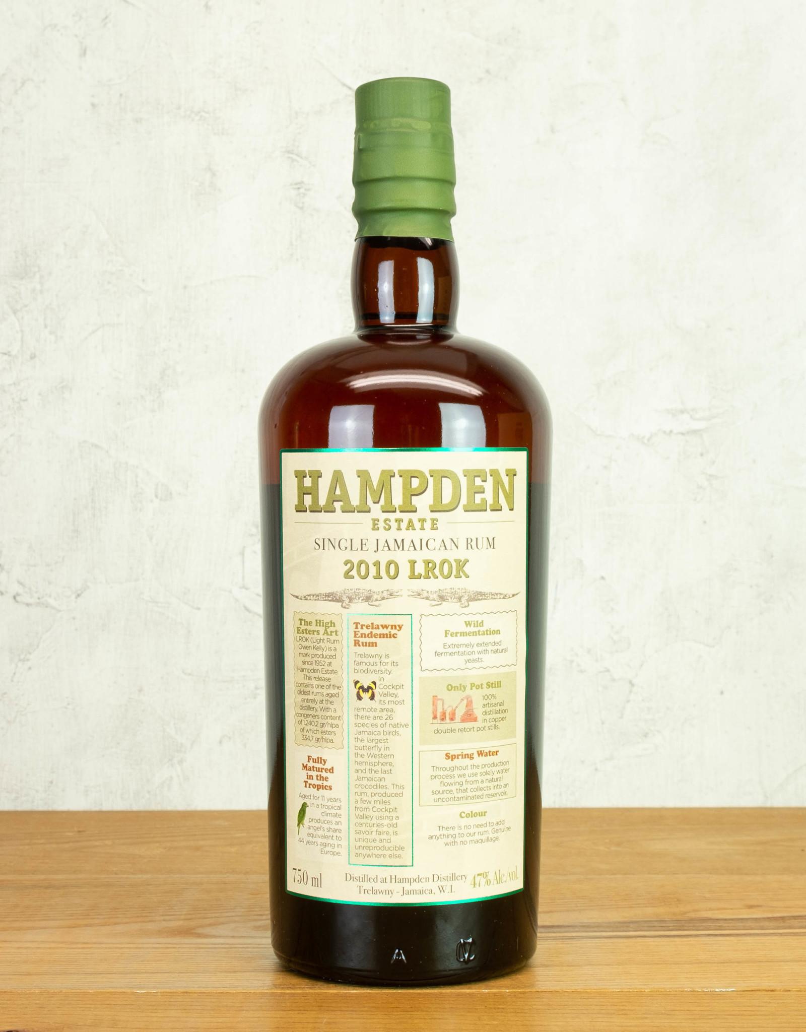 Hampden Estate 2010 LROK Jamaican Rum