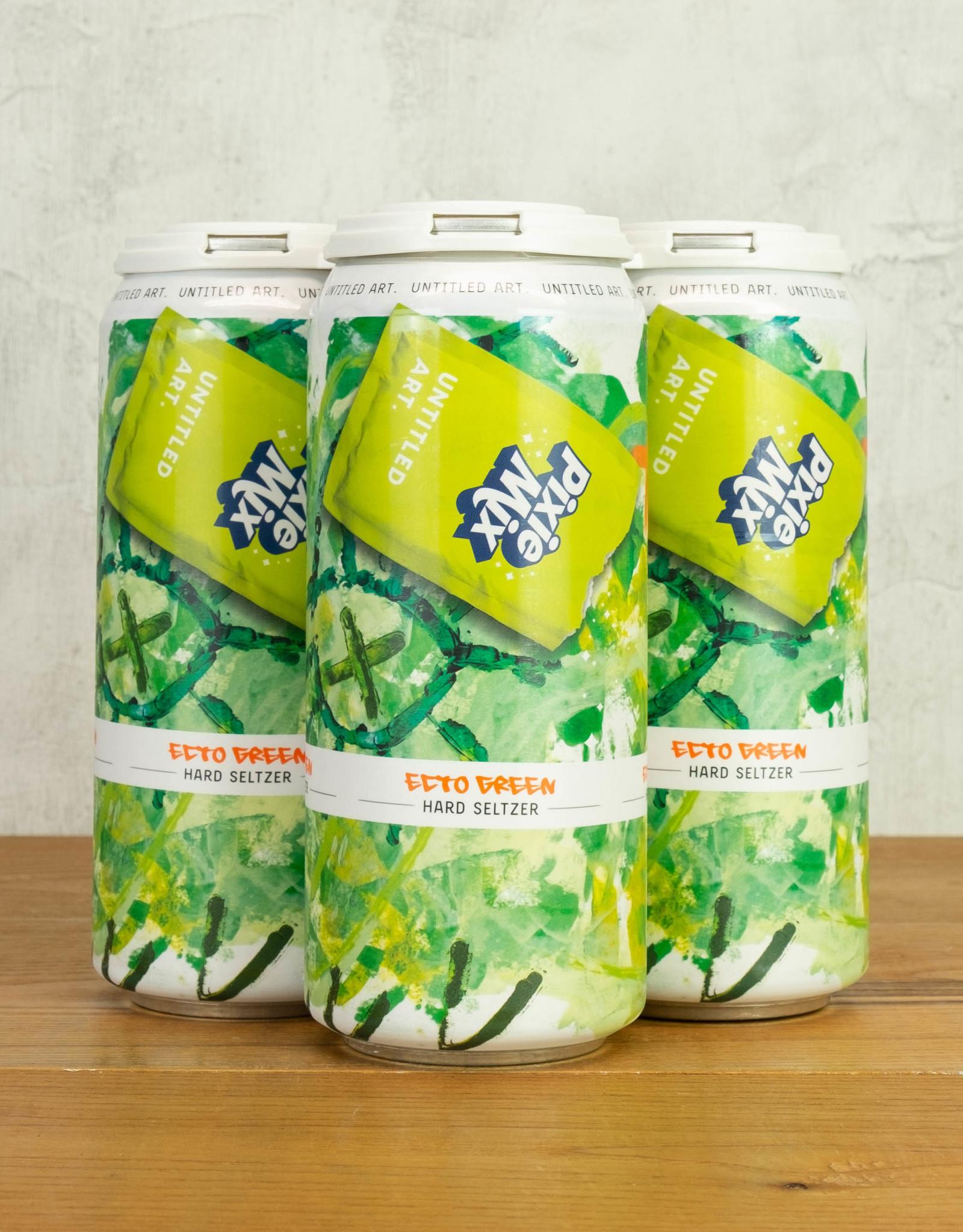 Untitled Art Pixie Mix Ecto Green Hard Seltzer 4pk