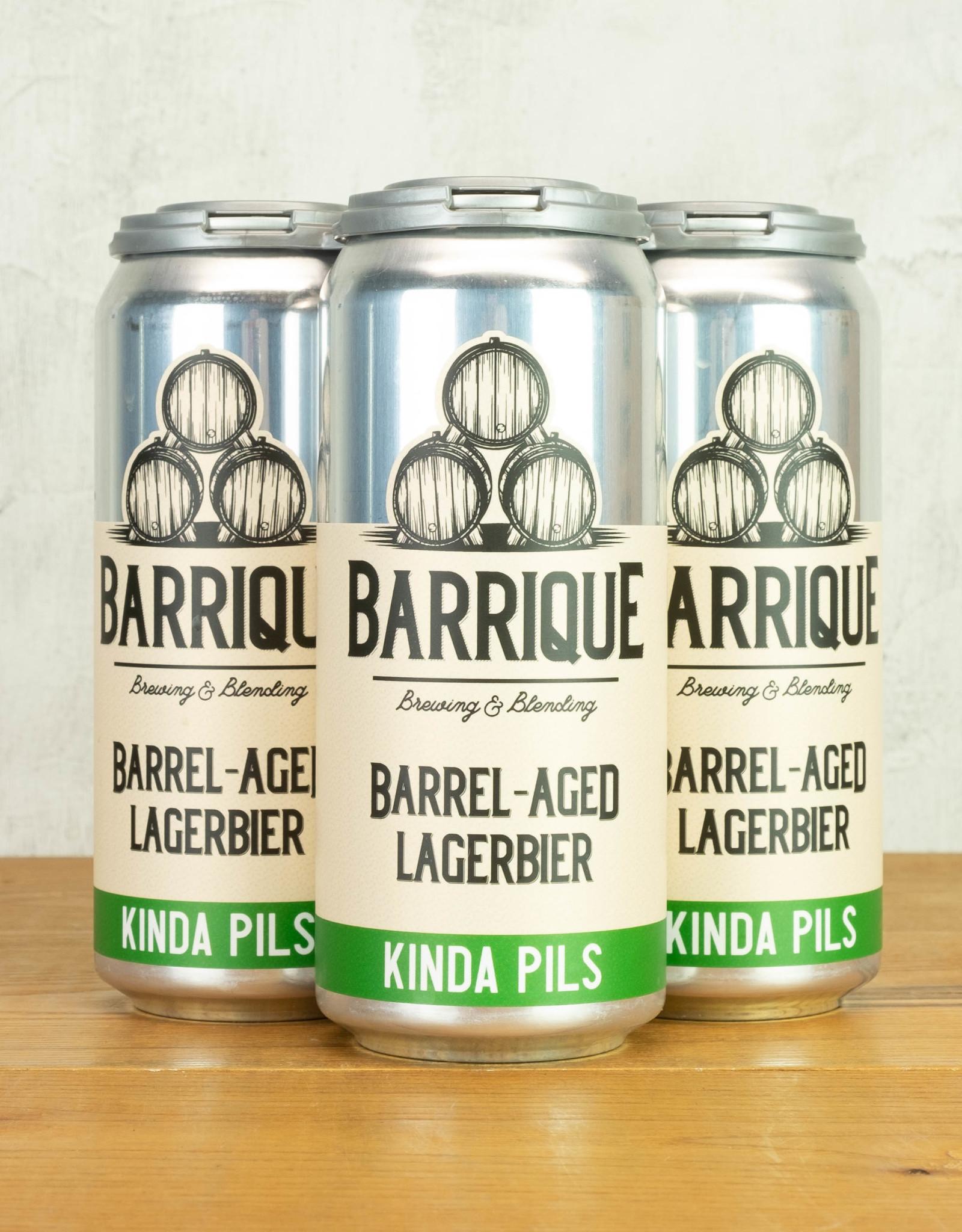 Barrique Barrel-Aged Lagerbier Kinda Pils 4pk
