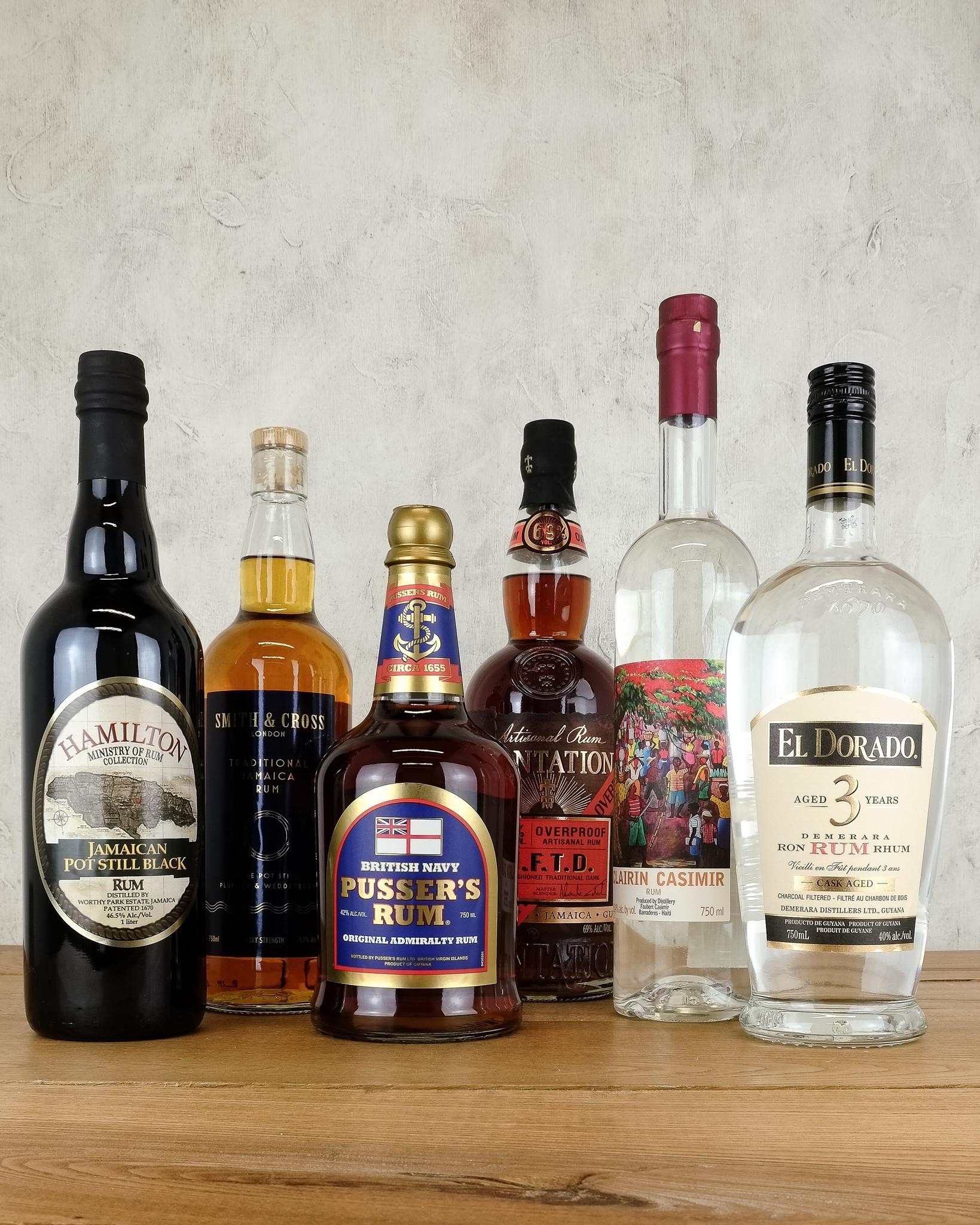 Fall Rum Cocktail Supplies