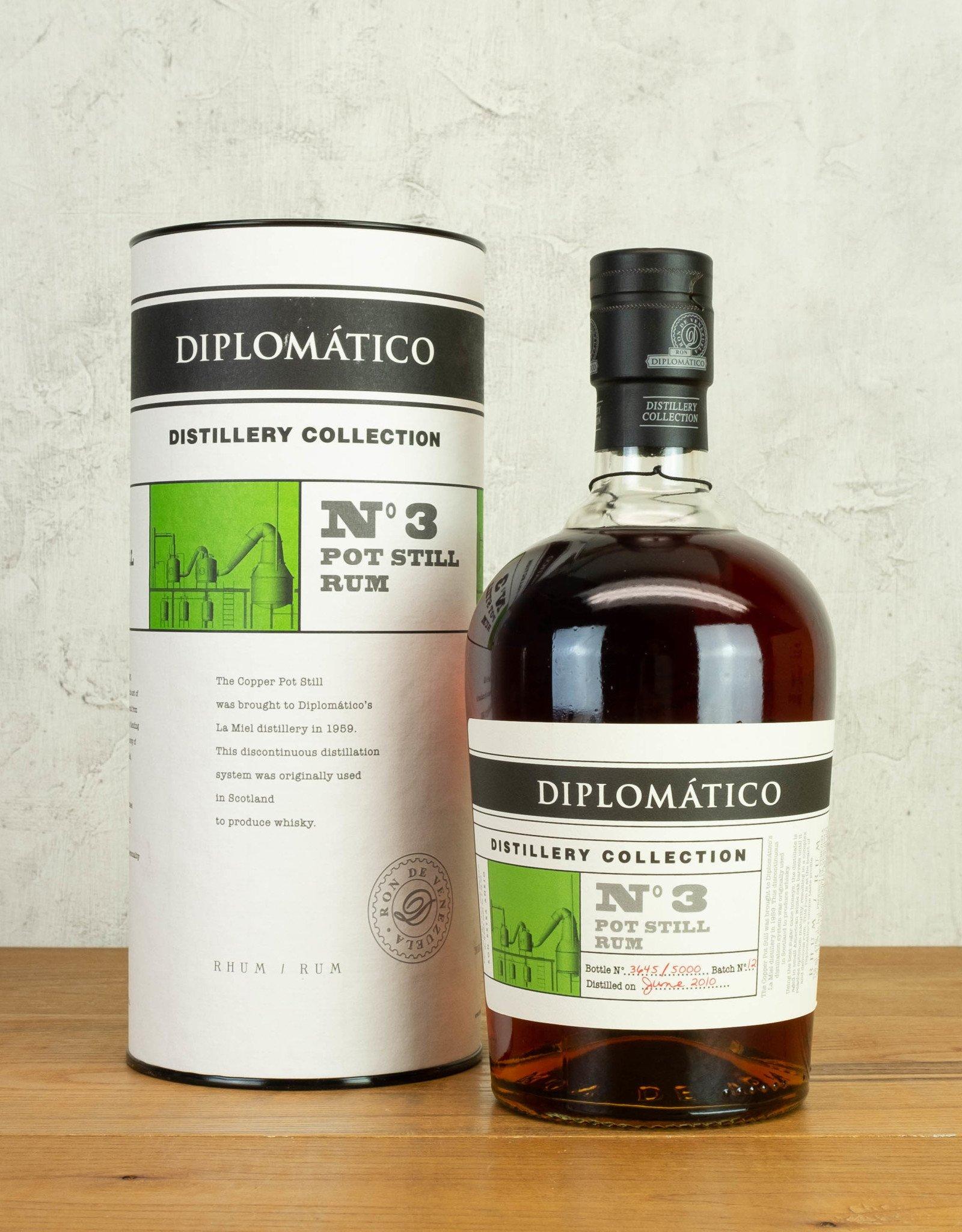 Diplomatico Distillery Collection No 3 Pot Still Rum