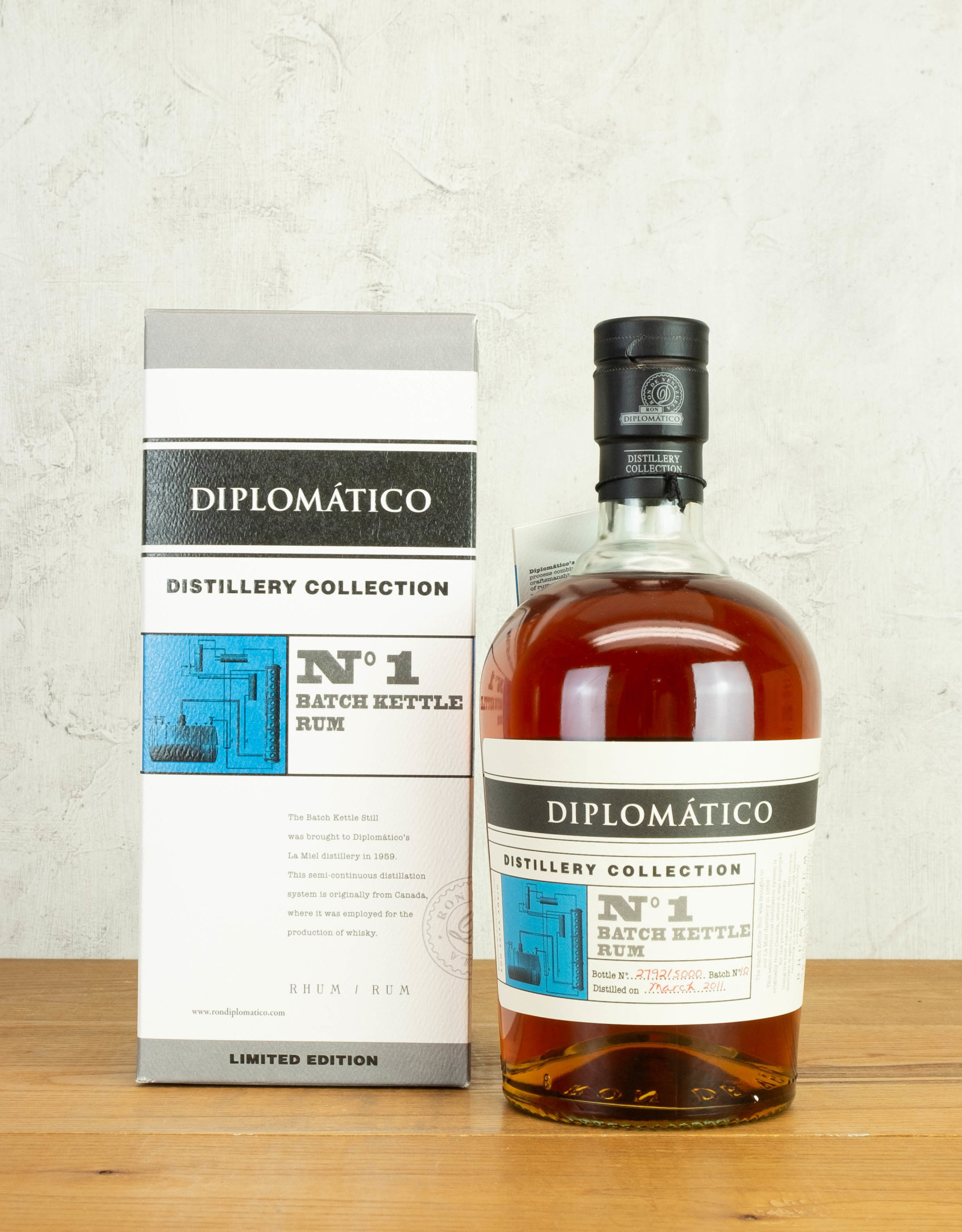 Diplomatico Distillery Collection No 1 Kettle Rum
