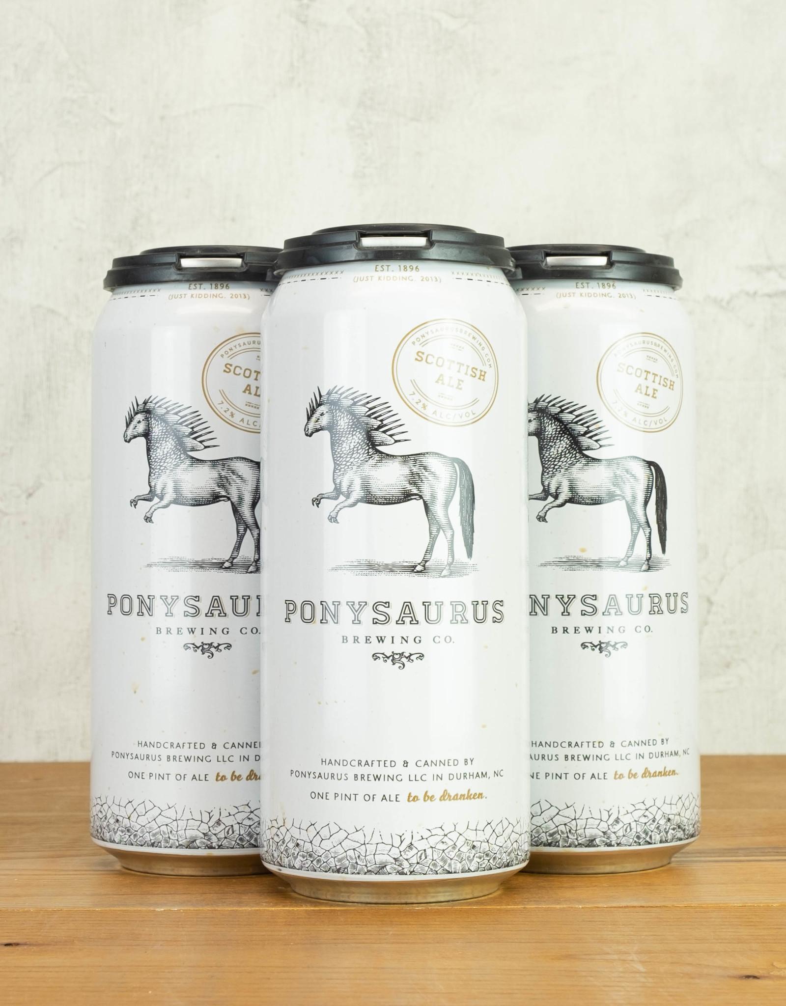 Ponysaurus Scottish Ale 4pk