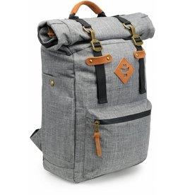 The Drifter Rolltop Backpack, Crosshatch Grey