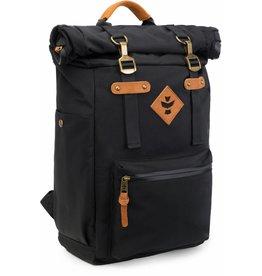 Revelry - Drifter - Rolltop Backpack, Black