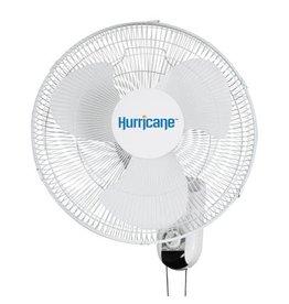 Hurricane Hurricane Classic Wall Mount Oscillating Fan 16 in Seconds
