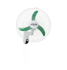 "Active Air Active Air 18"" Wall Mount Oscillating Fan"