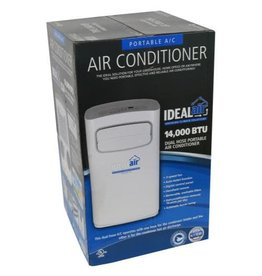 Ideal Air Ideal-Air Dual Hose Portable Air Conditioner 14,000 BTU