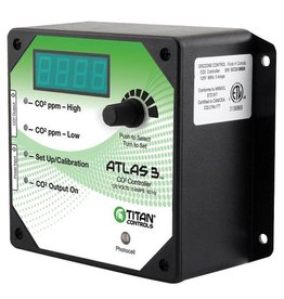 Titan Controls Titan Controls Atlas 3 -  Day/Night CO2 Monitor/Controller