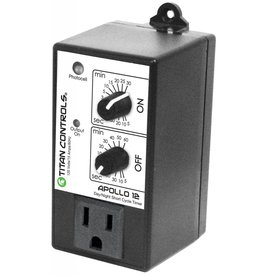 Titan Controls Titan Controls Apollo 12 - Short Cycle Timer w/ Photocell
