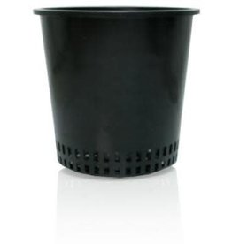 "Hydrofarm 6"" Round Mesh Bottom Pot"
