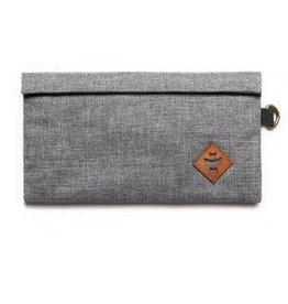 Revelry - Confidant - Small Money Bag, Crosshatch Gray