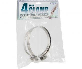 Active Air Stainless Steel Duct Clamps - 4""