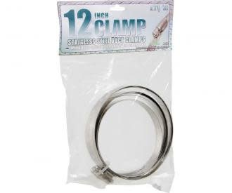 """Active Air Stainless Steel Duct Clamps - 12"""""""
