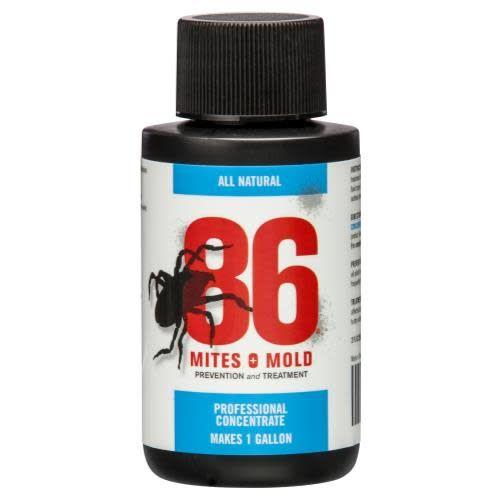 86 Mites & Mold 86 Mites and Mold 2 oz Mini Concentrate (Makes 1 Gallon) (12/Cs)