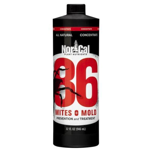 86 Mites & Mold 86 Mites and Mold 32 oz Concentrate (Makes 5 Quarts) (9/Cs)