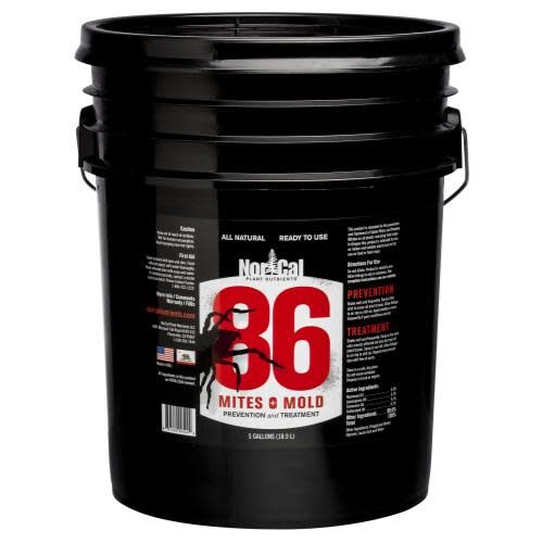 86 Mites & Mold 86 Mites and Mold 5 Gallon RTU (1/Cs)