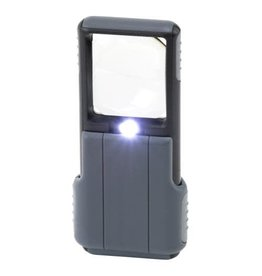 Carson Optical Carson Optical MiniBrite - 5x LED Pocket Magnifier w/ Aspheric Lens (4/Cs)