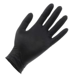 Black Lightning Black Lightning Powder Free Nitrile Gloves Small (100/Box)