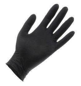 Black Lightning Black Lightning Powder Free Nitrile Gloves Large (100/Box)