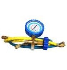 Ideal Air Ideal-Air HVAC Compound Pressure-Vacuum Gauge and Hose Set