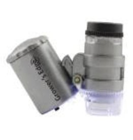 Growers Edge Grower's Edge Illuminated Microscope 60x (20/Cs)