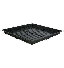 Flo n Gro Flo-n-Gro Low Profile Tray 4 ft x 4 ft OD - Black