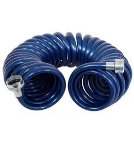 Rainmaker Revolution Coiled Garden Hose 3/8 in x 25 ft (5/Cs)