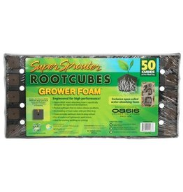 Super Sprouter / Oasis Rootcubes Grower Foam Plugs 50 ct Tray (18/Cs)