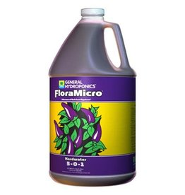 General Hydroponics GH Hardwater Flora Micro 2.5 Gallon (2/Cs)