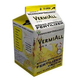 Vermicrop Organics Vermicrop VermiAll Purpose Broad Spectrum Fertilizer 4 lb (4/Cs)